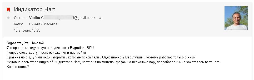 Вадим о моих индикаторах 18 апреля